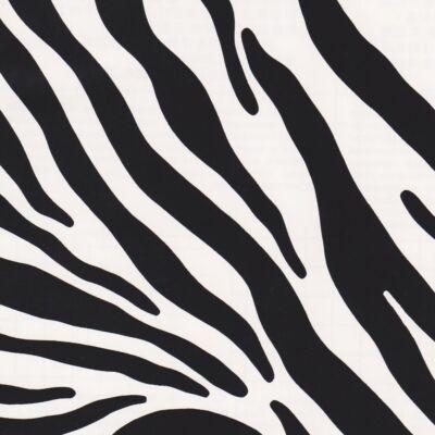 Zebra bőrhatású öntapadós tapéta