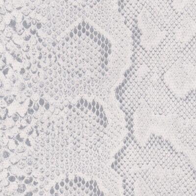 Fehér kígyó bőrhatású öntapadós tapéta