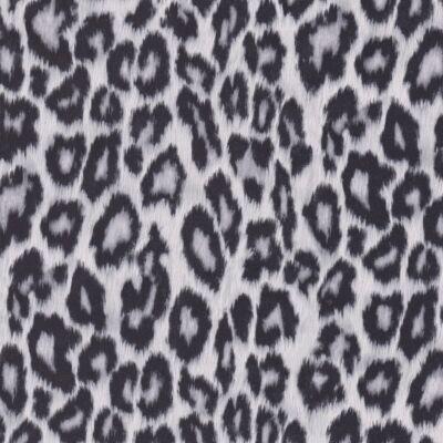 Szürke leopárd bőrhatású öntapadós tapéta