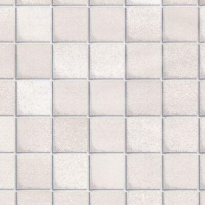 Fehér mozaik öntapadós tapéta
