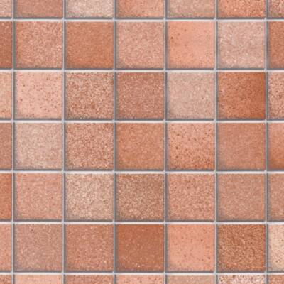 Barna mozaik öntapadós tapéta