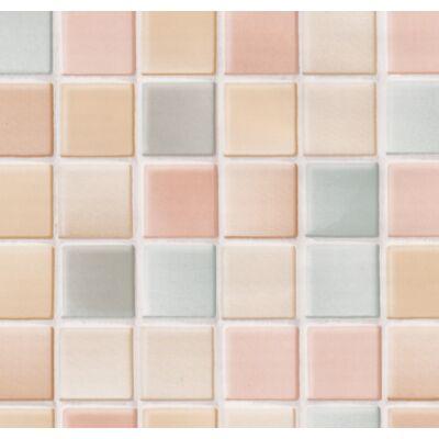 Színes mozaik öntapadós tapéta