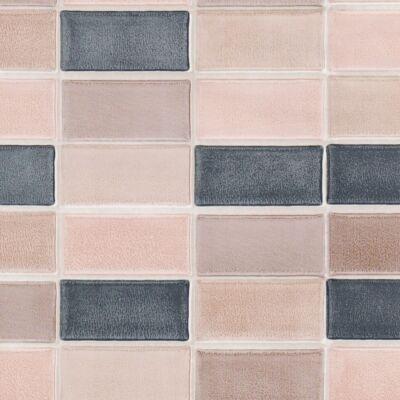 Téglalapos mozaik öntapadós tapéta