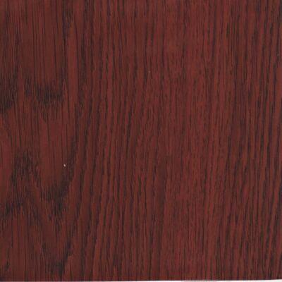 Vörös tölgyfaerezetű öntapadós tapéta