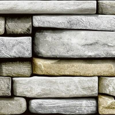 Rectangle Stones öntapadós tapéta