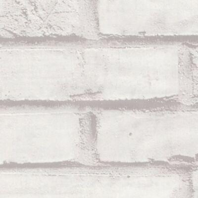 fehér téglamintás öntapadós tapéta
