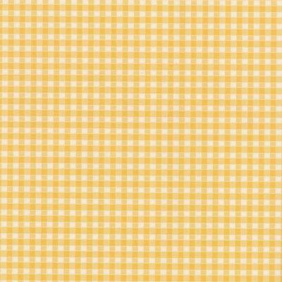 Sárga-fehér apró kockás öntapadós tapéta