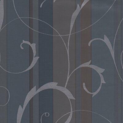 Scroll Overprint kék-szürke  öntapadós tapéta
