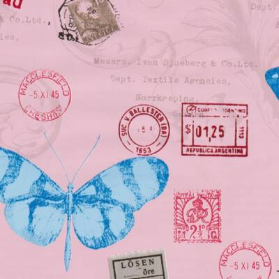 Pillangók öntapadós tapéta
