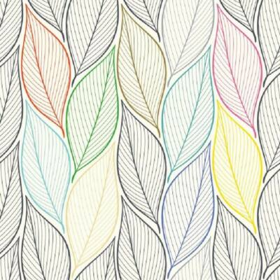 Colorful Leave öntapadós tapéta