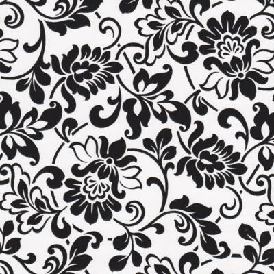 Heritage fekete-fehér öntapadós tapéta