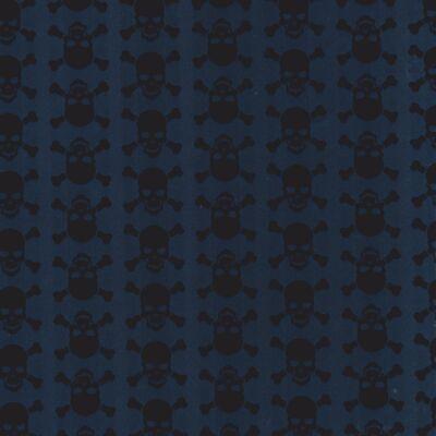 Fekete koponyák öntapadós tapéta