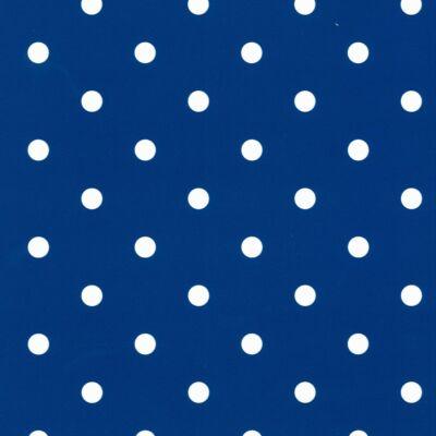 Pöttyös kék öntapadós fólia