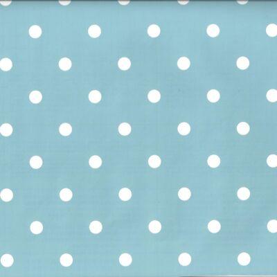 Kék vintage pöttyös öntapadós tapéta