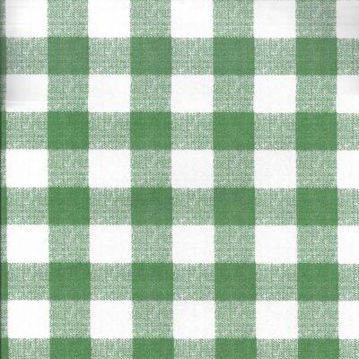 Zöld szövetkockás öntapadós tapéta