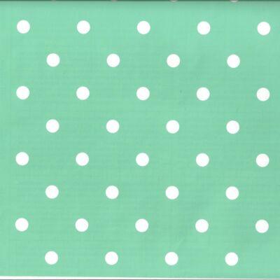 Zöld vintage pöttyös öntapadós tapéta