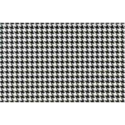 Fekete-fehér tyúkláb öntapadós fólia