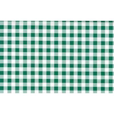 Zöld kockás öntapadós tapéta