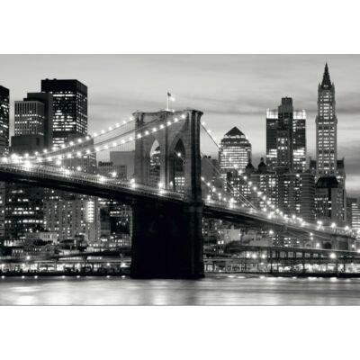 Híd feketén-fehéren poszter