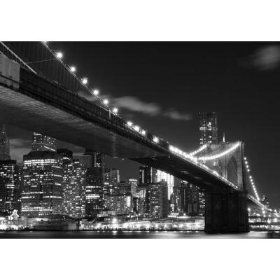 Kivilágított híd poszter