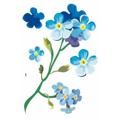 Színes falmatrica – Virágos