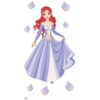 Színes falmatrica – Hercegnő