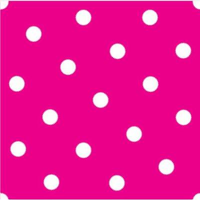 Pöttyös pink csempematrica